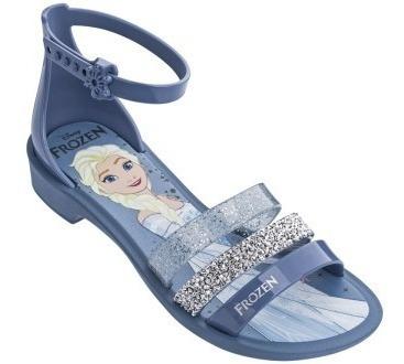 Sandália Infantil Frozen Royal Fantasy 21834 Cetro E Coroa