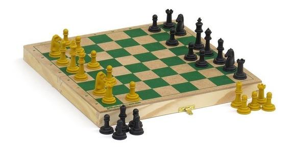 Jogo De Xadrez Com Estojo