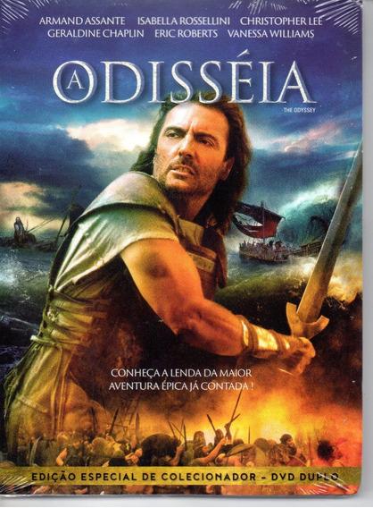 Dvd A Odisseia - Armand Assante - Classicline Bonellihq L19