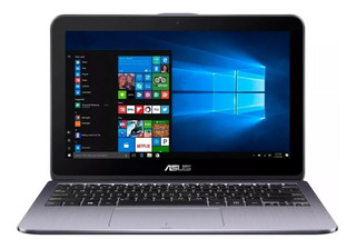 Laptop Asus Flip Intel Quad Core 4gb 500gb 11.6 Touch Tablet