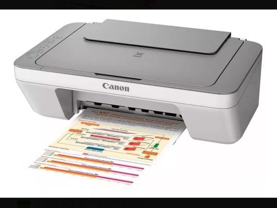 Impressora Multifuncional Canon Mg2410 Nova Sem Cartuchos
