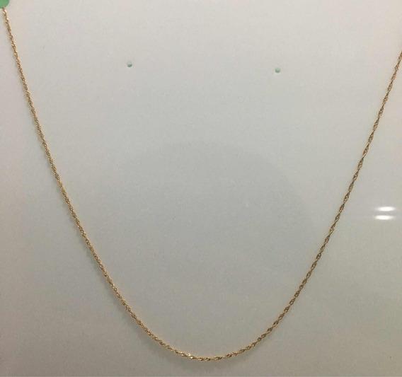 Corrente Singapura Feminina Em Ouro 18k (ouro Amarelo 750)