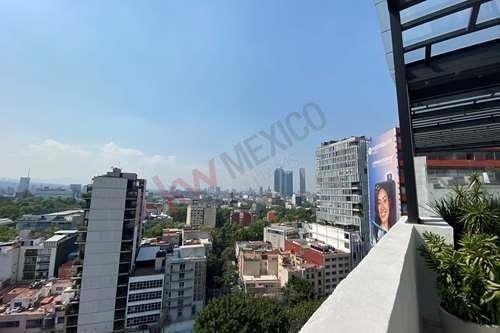 Departamento En Renta, Roma Norte, Calle Querétaro Esquina Insurgentes Sur $32,000
