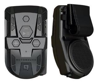 Motosound Bomber Multimidia P/ Moto Musica Telefone Gps
