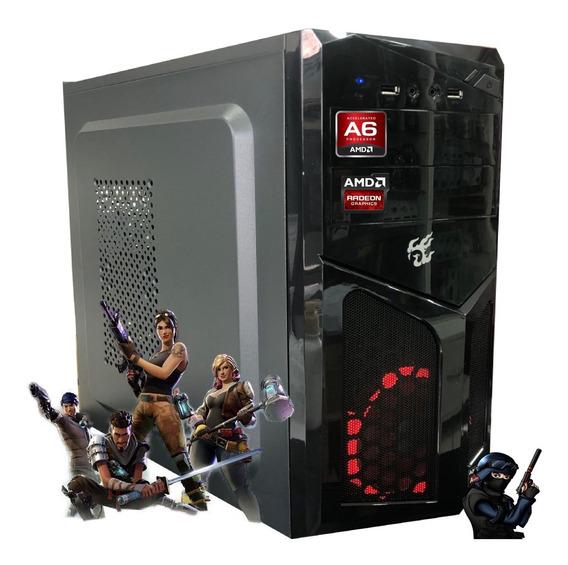 Pc Gamer Barata Amd A6 7480 8gb Hd500gb Video Radeon R5 2gb