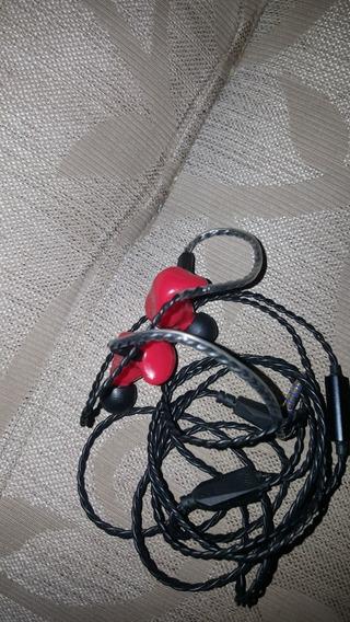 Fone Kz Zs4 Ñ Shure Tin Audio Beat