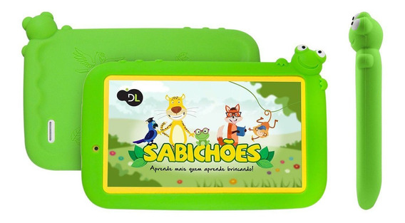 Tablet Dl Infantil Sabichões Tx386bvd Lacrado