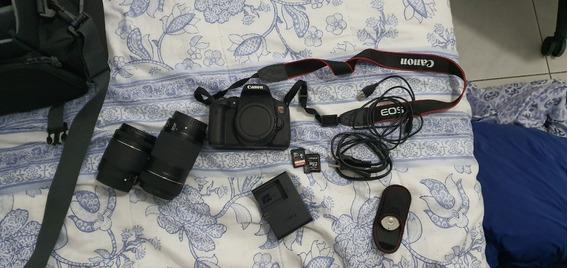 Combo Câmera Eos T6i Premium Kit