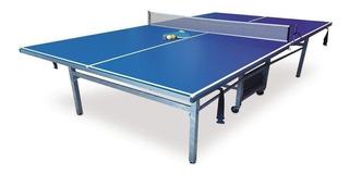 Mesa de ping pong Diversiones Bago Carro azul