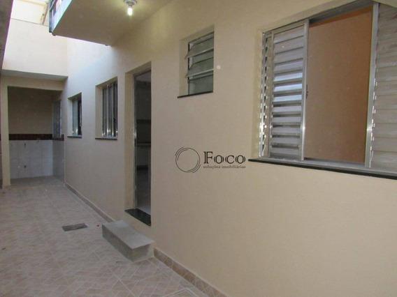 Casa Com 1 Dormitório Para Alugar, 50 M² Por R$ 1.000/mês - Jardim Paraventi - Guarulhos/sp - Ca0802