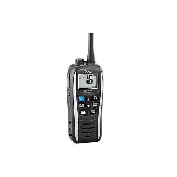 Icom Ic-m25 11 Handheld Vhf Radio - Blanco