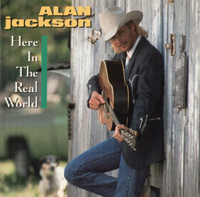 Alan Jackson Here In The Real World Usa Cd Arista 1989 !