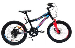 Bicicleta Raleigh Rowdy Rodado 20 Aluminio 7 Vel Envio Grati