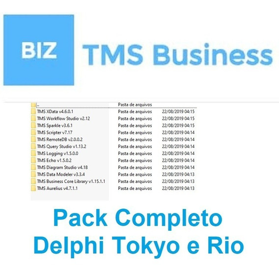 Tms Business Subscription Pack 2019 Completo - Delphi Tokyo A Rio 10.3.2