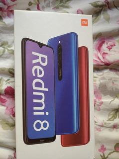 Cel Xiaomi Note 8 Com 6 Dias De Uso Azul.