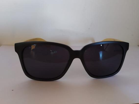 Óculos De Sol Madeira Uv400 Unissex Dreams Trevo Sem Detalhe