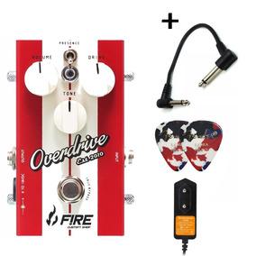 Fire Custom Shop Overdrive Restyle Pedal C/ Fonte + Brindes