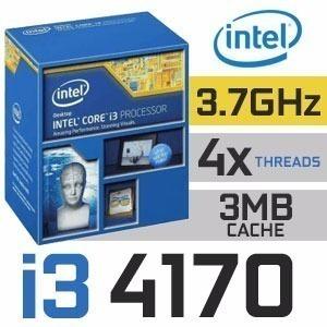 Core I3 4170 Lga 1150 3.70 Ghz 3mb Cache Oem