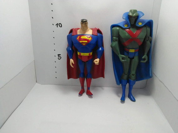 Liga De La Justicia Superman, Batman, Martian Manhunter Usad
