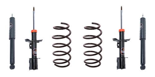 Amortiguador Kit X4 Chevrolet Corsa 2 + Espirales