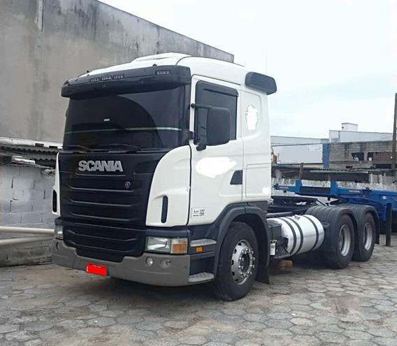 Scania G 420 6x4 Bug Leve Completa Pego Troca -- Fh 440 460