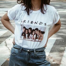 Camiseta Camisa Friends Blusinha Moda Tumblr Swag Feminina