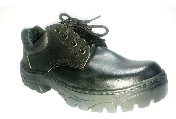 Talles Especiales Zapato Trabajo Cuero Krapert Art108 Ne