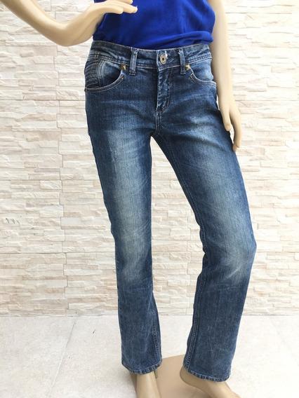 Calça Jeans Le Lis Blanc Azul Desgastado
