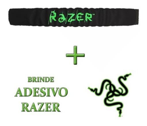 Bandana Headband Arco Cabeça Headset Razer Electra Kraken