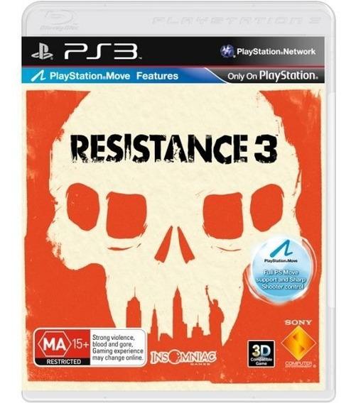 Resistance 3 - Mídia Física / Ps3