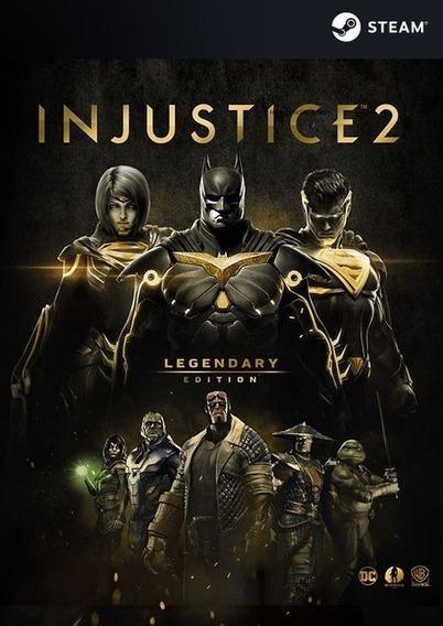 Injustice 2 - Juego Digital Para Pc - Iso