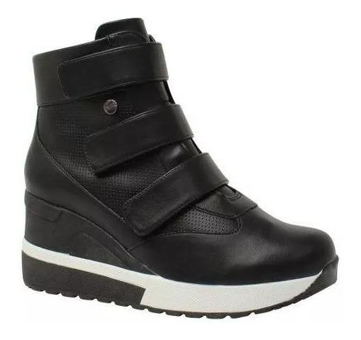 Tênis Bota Plataforma E Anabela Sneakers Quiz 67-37928