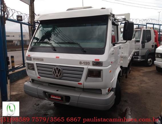 Vw 8120 Worker Ano 2006 Caminhão Em Ótimo Estado Confira