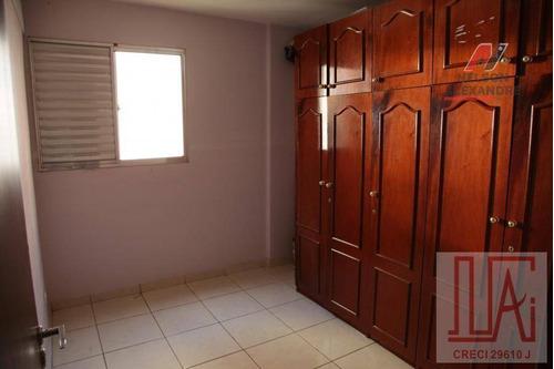 Apartamento Com 2 Dormitórios À Venda, 54 M² Por R$ 223.000,00 - Bandeiras - Osasco/sp - Ap0047