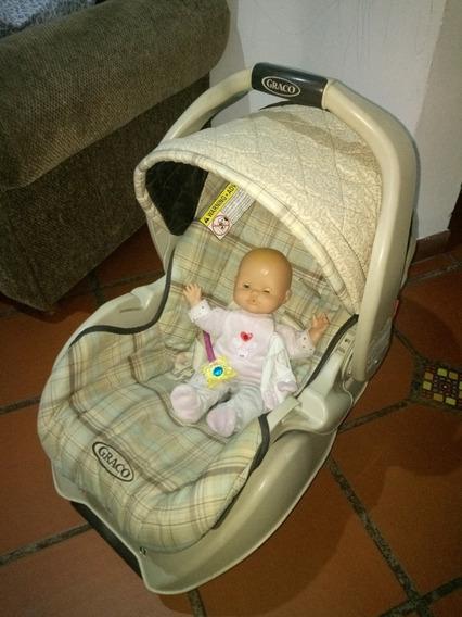 Silla Porta Bebé Graco Con Base Para Carro