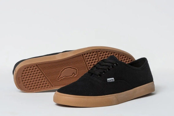 Zapatilla Raven Boston Negro Crep