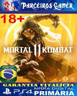 Mortal Kombat 11 Totalmente Em Português Ps4 1 Mídia Digital