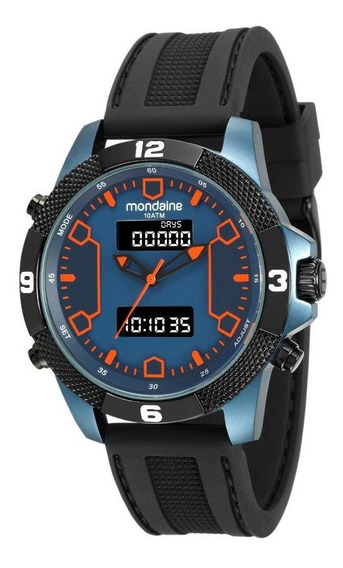 Relógio Mondaine Masculino Preto 99103gpmvtu2