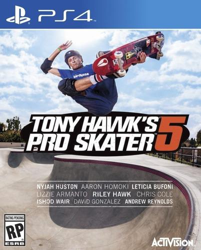 Tony Hawk Pro Skater 5 Juego Ps4 Original