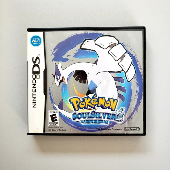Pokemon Soul Silver Original Nintendo Ds 3ds 2ds