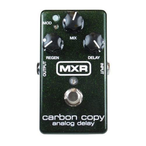 Pedal Mxr Carbon Copy Analog.delay Dunlop(preto)