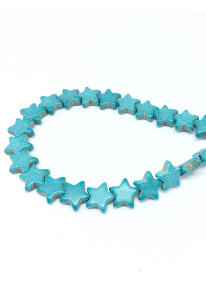 Estrellitas Howlita, Beads Para Bisutería