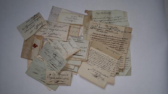 França Lote De 27 Cartas Antigas Pré Stamps De 1807-1857.