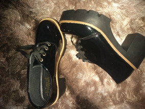Sapato Tratorado N37 Novo