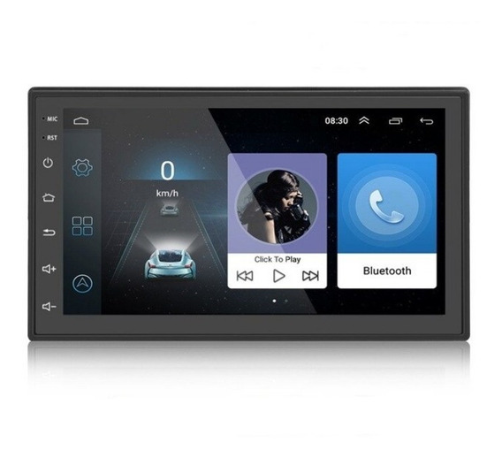 Stereo 2 Din Wifi Sd Gps Android 8 Bluetooth 1+16 G Multimedia