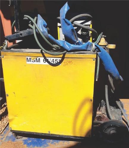 Maquina De Solda Mig Esab - Lab 475 - 2695