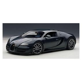 Bugatti Veyron Super Sport 1:18 Autoart Azul Escuro 70938