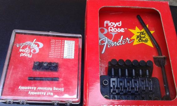 Tremolo Floyd Rose Original Zer Na Caixa Com O Nut Original.