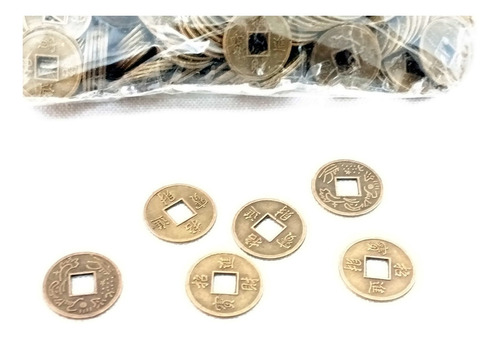Monedas Feng Shui Atrae Suerte China Pack X 200 Aprox