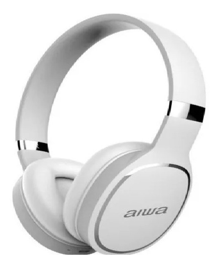 Audífonos Aiwa Inalambricos Blanco Bluetooth Tienda Física